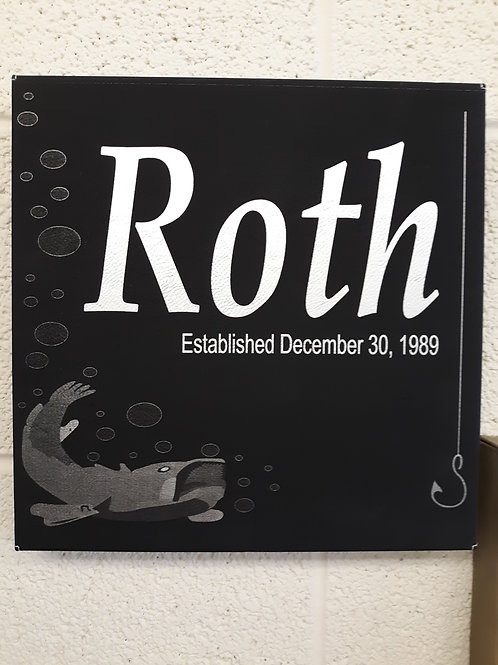 10x10 Faux Leather Board
