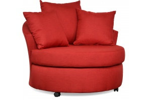 Custom Barrel Chair