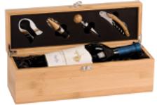 Bamboo Wine Box & Tools