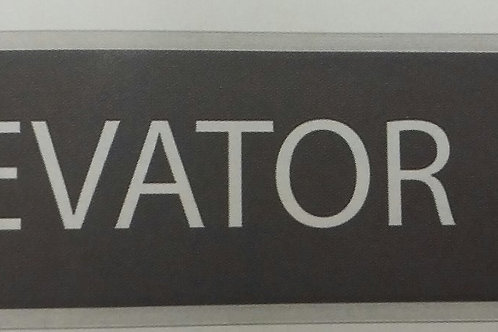 10x2 Plate for Signage or Name Plate