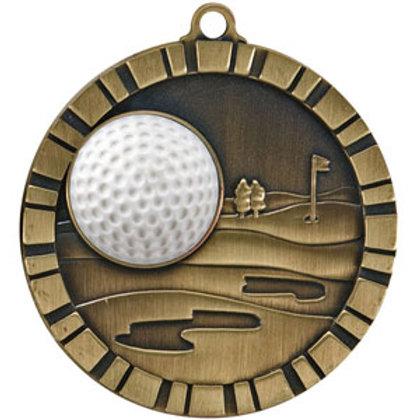 "3D Golf Medal 2"""