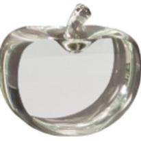 """2"""" Flat Crystal Apple"""