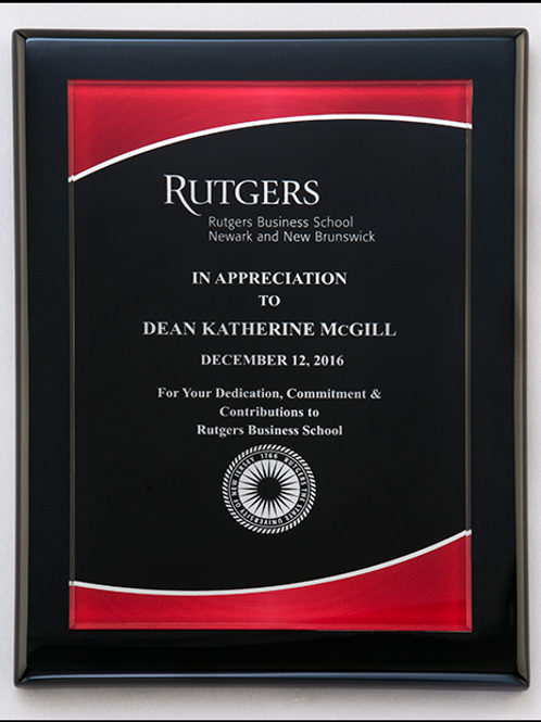 Acrylic Plaque with engraving