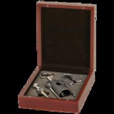 Rosewood Finish 3-Piece Wine Tool Gift Set