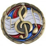 "Music High Definition 2"" Medal"