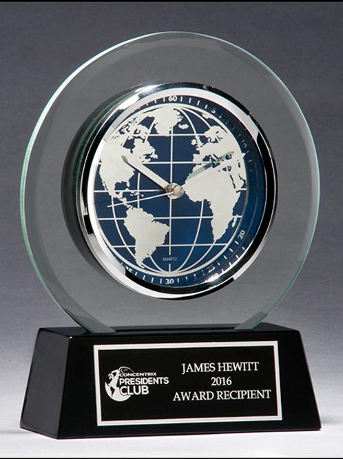 Global Acrylic Clock