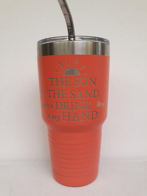 The Sun/The Sand 30 oz Tumbler