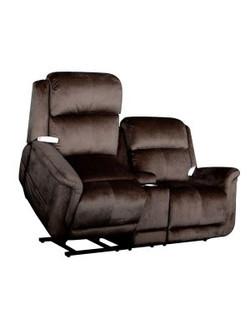 Walnut Lift Love Seat