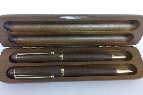 Walnut Pen/Pencil Set
