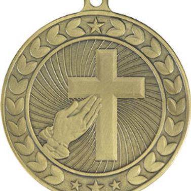 2 1/4 Cross Illusion Medal 44014-CAT