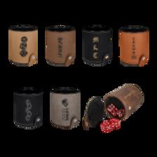 Leatherette Dice Cup Sets