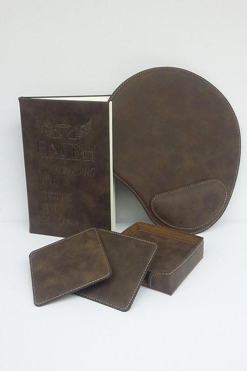 Leather Desk Necessities