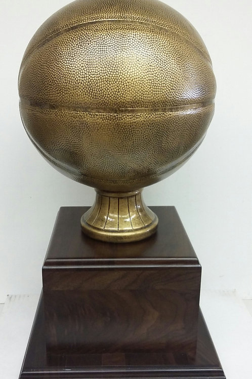 Antique Gold Perpetual Trophy