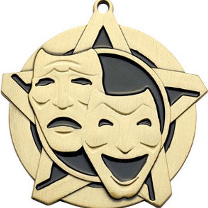 2/14 Drama Medal 43117-CAT