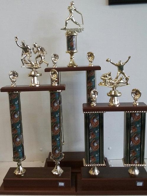 Baseball Trophy Set