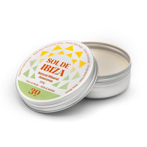Sol De Ibiza SPF 30 Vegan Sun Cream
