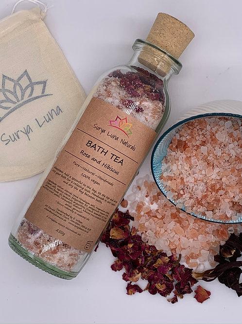 Rose and Hibiscus Bath Tea
