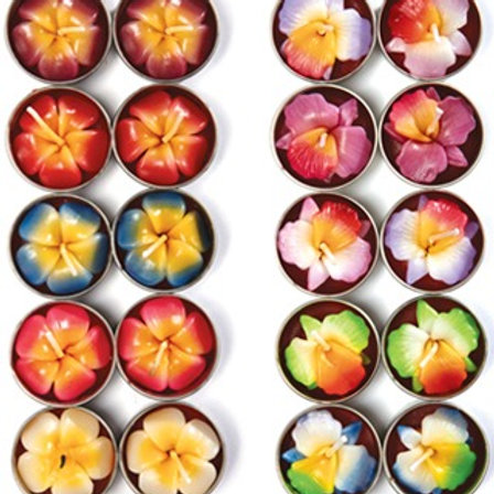 Pack of 10 Lotus Flower Tea Lights