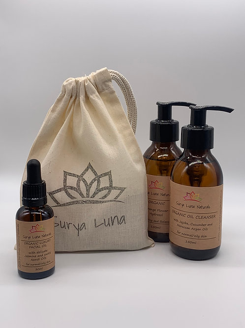 Surya Luna Cotton Gift Bag - Medium