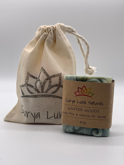 Surya Luna Cotton Gift Bag - Small