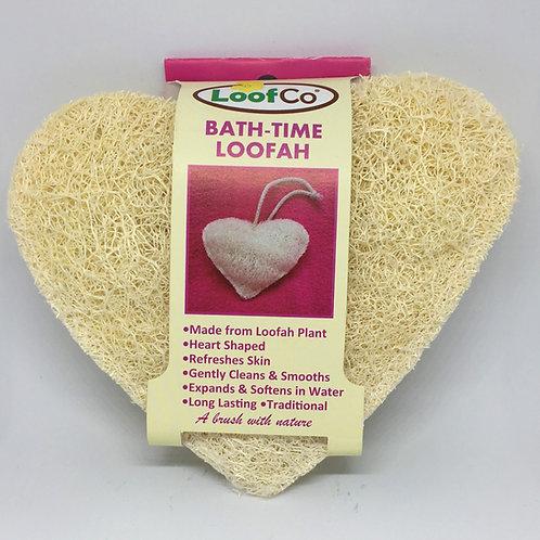 Heart Shaped Loofah