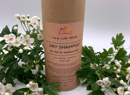 Top Tips for using your Surya Luna Dry Shampoo