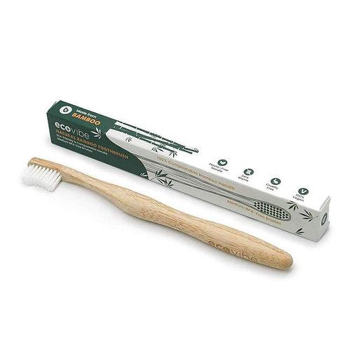 Eco Vibe Natural Bamboo Toothbrush - Medium Bristles