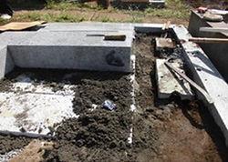 墓石建立2