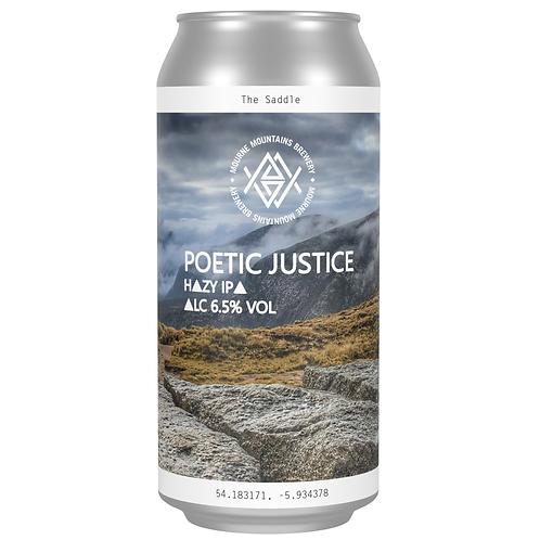 Poetic Justice Hazy IPA 6.5% (12x440ml)