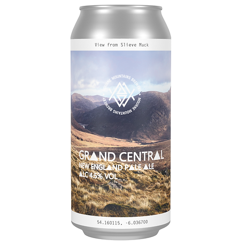 Grand Central New England Pale Ale 4.5% (12x440ml)