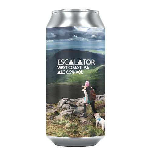 Escalator West Coast IPA 6.5% (12x440ml)