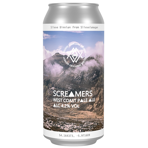 Screamers West Coast Pale Ale 4.2%