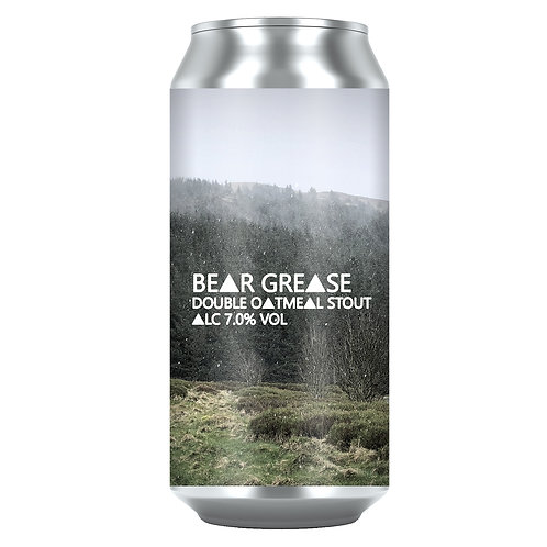 Bear Grease Double Oatmeal Stout 7.0% (12x440ml)