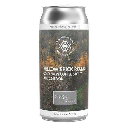 Yellow Brick Road Cold Brew Coffee Stout 6.5% (12x440ml)