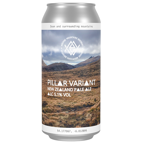 Pillar Variant New Zealand Pale Ale 5.1% (12x440ml)