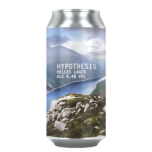 Hypothesis Helles Lager 4.4% (12x440ml)