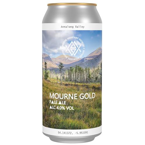 Mourne Gold Pale Ale 4.0%