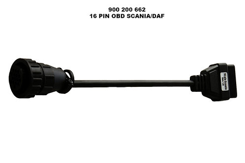 16 PIN OBD ADAPTER CABLE FOR SCANIA / DAF-ΠΡΙΖΑ ΔΙΑΓΝΩΣΗΣ