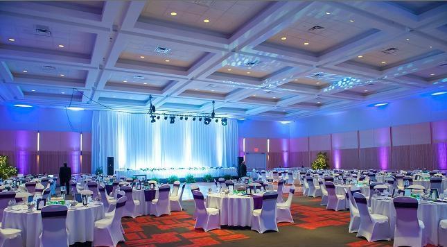 Miami Wedding Lighting