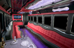 26 black partybus inside 24 to 26