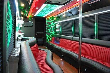 stripper pole party bus Miami