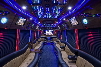 Huge Miami Party Bus
