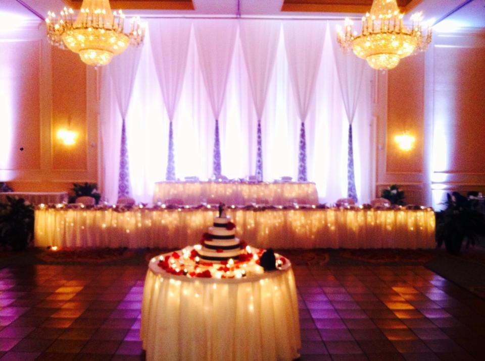 Miami Wedding Draping