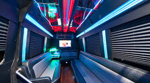 Miami wedding party bus rentals
