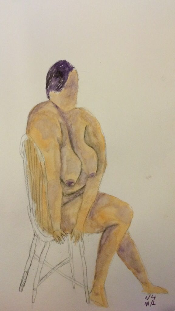 Life drawing class - Leo
