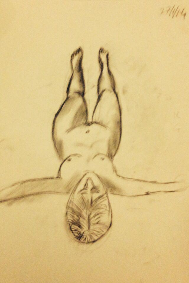 Life drawing class - Nicki