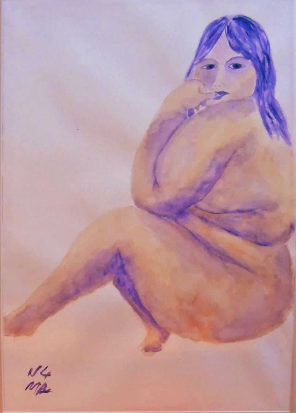 """""""Pensive nude"""""""