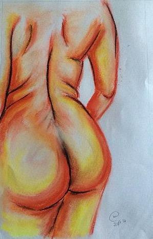 """Peachy bottom"""