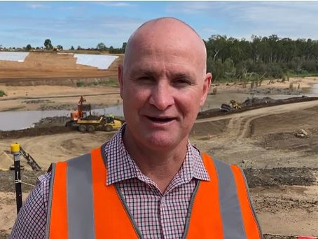 In-river works on Rookwood Weir are underway!