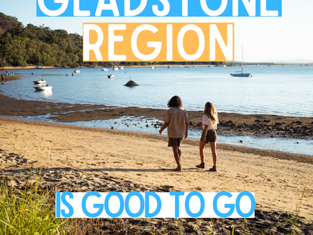 Gladstone is Good to Go! 🙌🌴🏖️